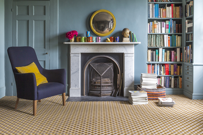 Ben Pentreath Quirky B Lattice Flitcroft Natural Carpet Natural Carpet