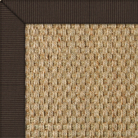Seagrass Balmore Basketweave Rug with Tweed Edredge border