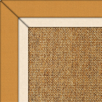 Sisal Bayford Boucle Rug with double Cotton border